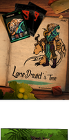 Lone druid's Time by xofks12