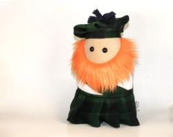 Stuffed Scotsman Plush by Saint-Angel