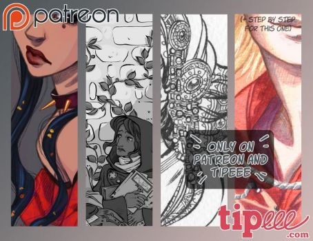 Preview Patreon.Tipeee January 2017 by Ludimie