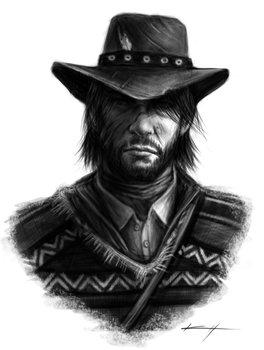 Red Dead Redemption by pavocristo