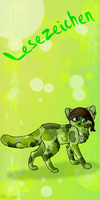Bookmark commish for Goldstreif by MissLayira