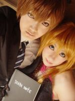 Death Note Couple by touyahibiki