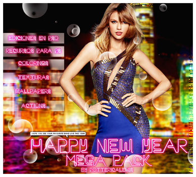 +Mega Pack Happy New Year! by PottericaLewis