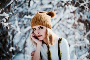 winter portrait by Basistka