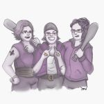 Saints Row Homies by not-sleeping
