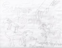 Super Solo: The Magmaraptor Returns (Old Cover) by Rapono