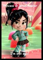 Go Vanellope!!!! by MKUSecondGeneration2