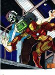 IRON MAN vs METALLO by gagex07
