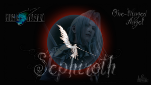 One-Winged Angel Wallpaper by RogueVincent