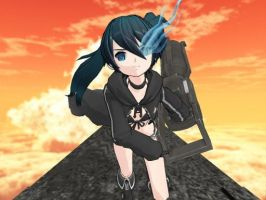 Anime Ver BRS - MMD Front View by firstfuturesound