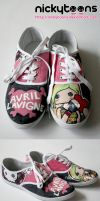 Avril Lavigne Shoes by NickyToons