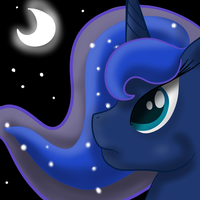 Princess Luna by MoonShardDragon