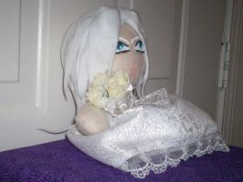 Sephiroth in a Wedding dress 2 by Erro-meatbun