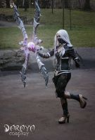 nightblade irelia cosplay by daraya by Daraya-crafts