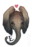 E is for by CoyoteMange