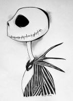 jack skelington sketch by chilli-con-carnage