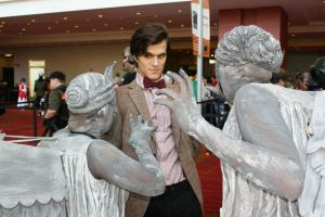 Doctor Who and the Weeping Angels by MisterTimeLord