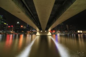 Bridge over Brisbane by jaydoncabe