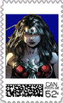 Wonder Woman Postage Stamp 2 by WOLFBLADE111
