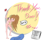 Thank You, Dani Neider! (June 2017) by GlitchyReal
