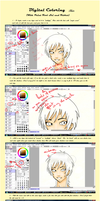 Coloring Tutorial - Hair by heartandbonebreaker