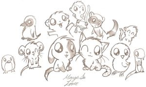 Baby Animals by Nukeleer