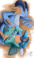 Mud, Marsh and Swam by mudkip-chan