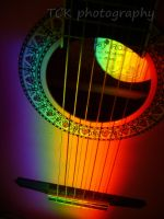 Rainbow guitar. by ASFmaggot
