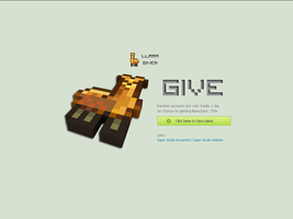 Llama GiveR (Website) by Super-Studio