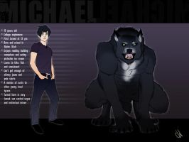 Michael Eldridge - Lycan by sushicorgi