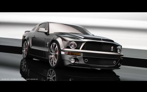 Ford Mustang Shelby GT500 by Koxy911