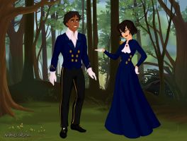 Blue Tux Michael and Me by MJDisneyGirl
