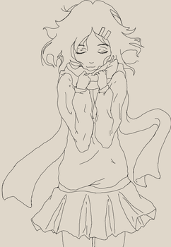 Ayano lineart by R1nna