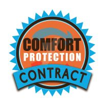 Comfort Protection Contract - Mockup Logo by PaulWhipps