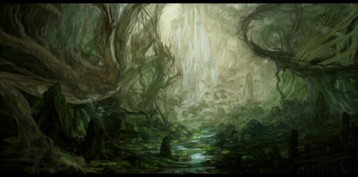 The Undergrowth by Narandel
