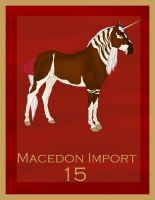Raffle Import 3 Macedon Import 15 by Secret-Z