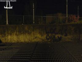 Locals Only (Night) by Somethingguy912