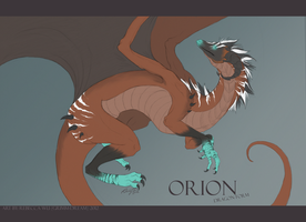 Commission Orion Dragon Form by Grimm-Dream