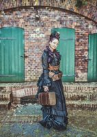 Steampunk event Aethercircus 2014  My Outfit by S-T-A-R-gazer