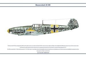 Bf 109 F-2 JG54 2 by WS-Clave