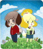 Digby and Isabelle by superdonut