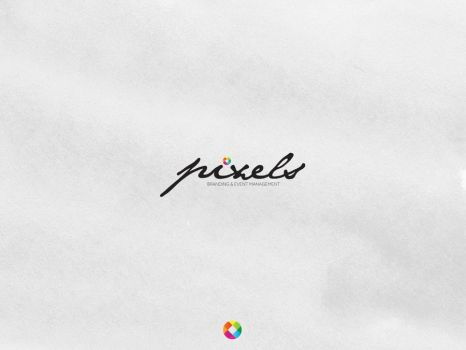 Pixels Advertising New Logo by beshoywilliam