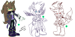 Sonic Adoptables #14 - CLOSED by shadowhatesomochao