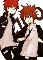 enma and tsuna by tokoco