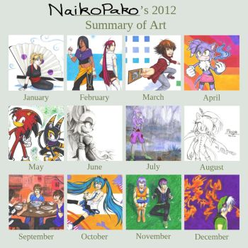2012 Summary of Art by NaikoPako