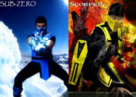Sub-Zero vs. Scorpion by TheLinKueiNinja