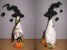 Halloween BOTTLE 3-4 side by zefforian