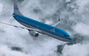 KLM 737-800 In Flight by B737TheAirliner