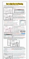 How to Adjust Line Art in Photoshop. by Dissension-7