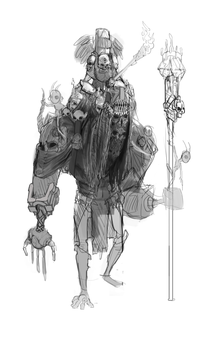 Tribal Watchman (scrapped) by Dastro